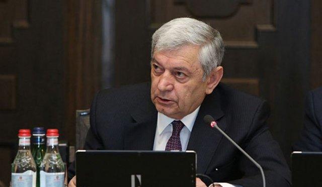 Глава МЧС Армении обратил внимание членов правительства на пожарную безопасность на Араратской таможне