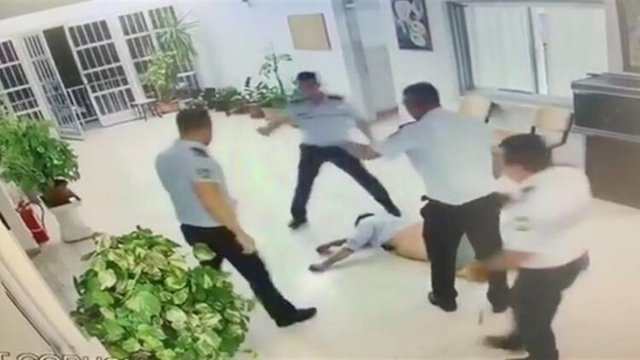 Турецкая полиция в Северном Кипре жестоко избила иностранного туриста