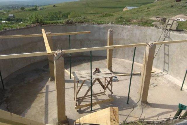 Капитально ремонтируется водохранилище общины Вардадзор
