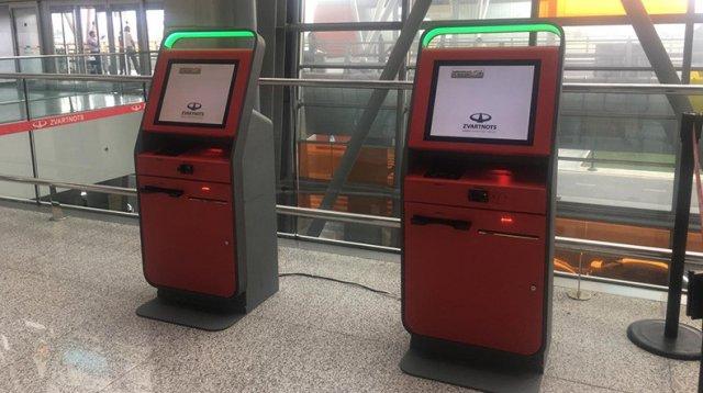 Киоски самостоятельной регистрации уже доступны в ереванском аэропорту «Звартноц»