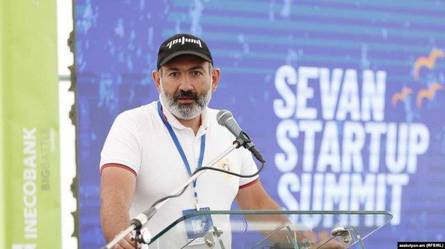 """Стартап в Армении должен стать менталитетом – Пашинян присутствовал на """"Sevan Startup Summit-2019"""""""