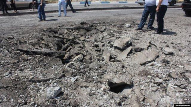 По факту взрыва на трассе Ереван-Севан возбуждено уголовное дело