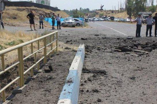 По факту дела о взрыве на трассе Севан – Ереван задержаны три человека