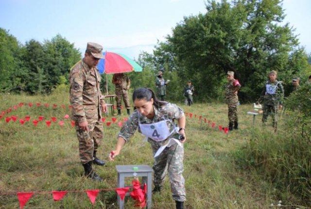 Команда Армении победила в этапе «Профессионал» международного конкурса «Воин Мира» АрМИ-2019