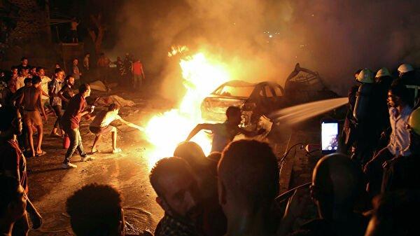Взрыв в Каире: 17 человек погибли