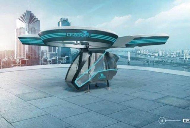 Опубликован прототип первого турецкого национального летательного автомобиля