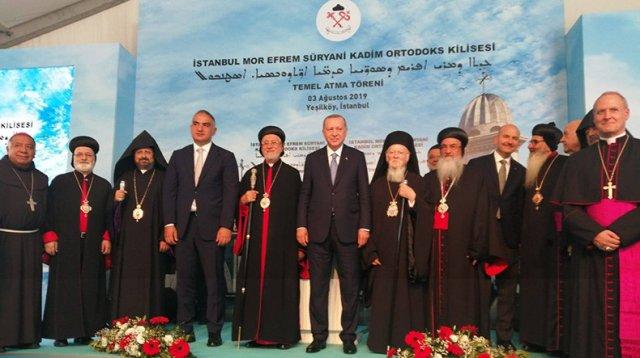 Местоблюститель Константинопольского патриарха ААЦ встретился с Эрдоганом