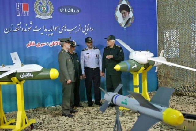 В Иране представили три новые модели управляемых высокоточных ракет