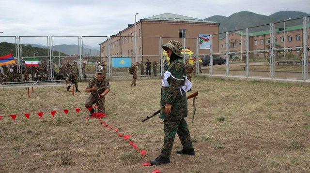 Завершился этап «Профессионал» конкурса «Воин Мира»: в командном зачете первое место у Армении