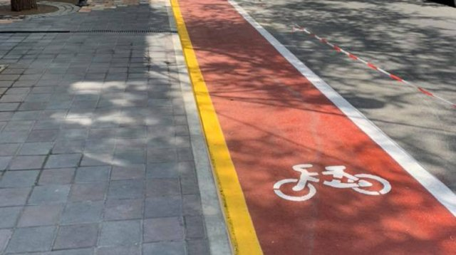 В Ереване впервые появится велосипедная дорожка