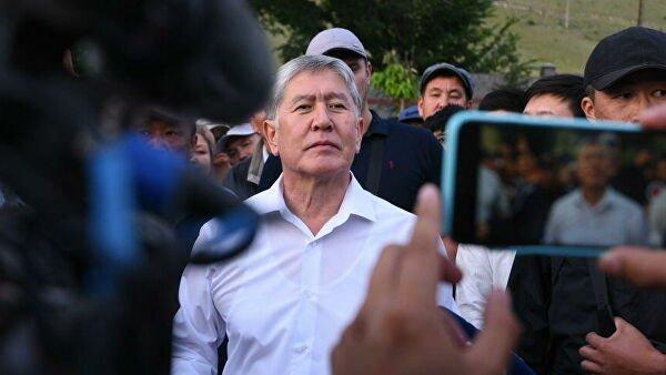 Задержан экс-президент Киргизии Алмазбек Атамбаев