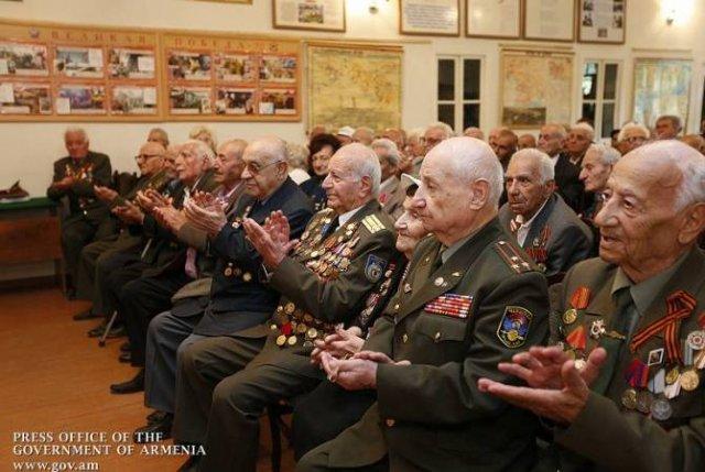 Правительство Армении выделит средства 30 ветеранам Великой Отечественной войны