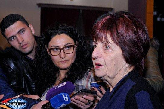 Бывшему председателю Союза журналистов Армении Астхик Геворкян предъявлено обвинение