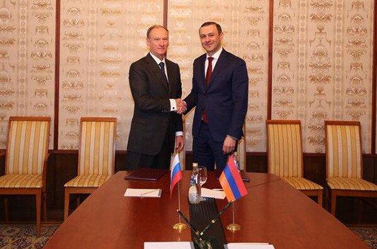 Делегация во главе с Николаем Патрушевым прибудет в Армению