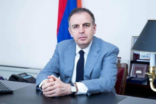 Армен Саркисян назначил Карена Назаряна Чрезвычайным и полномочным послом РА в Португалии