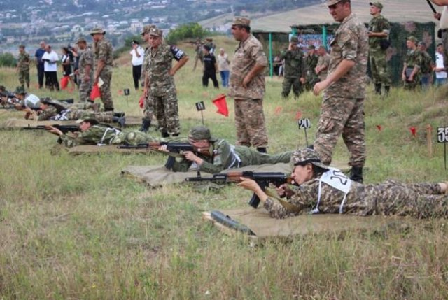 Лучшим снайпером в конкурсе «Воин Мира» стала представительница Армении