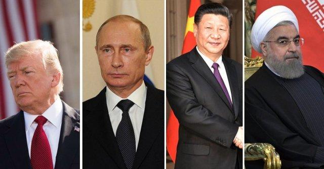 Прогноз: Воевать с США за Иран Россия и Китай не станут