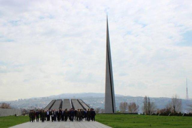"""Участники конкурса """"Воин мира"""" посетили достопримечательности Армении"""