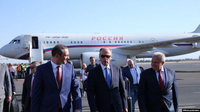 В Армению прибыл секретарь Совбеза России