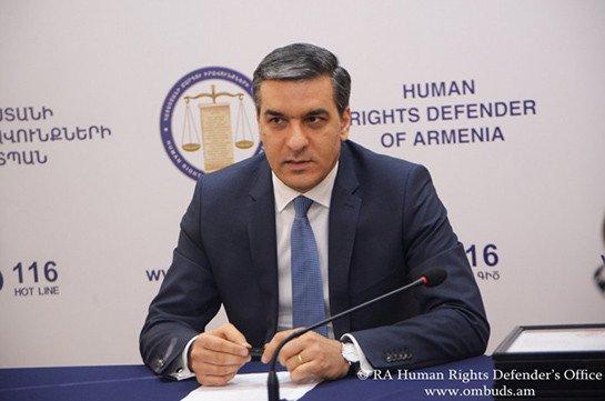 Омбудсмен Армении на связи с семьей военнослужащего Араика Казаряна