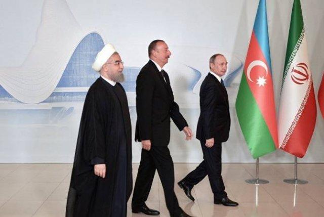 В Кремле сообщили о переносе встречи Путина с Роухани и Алиевым