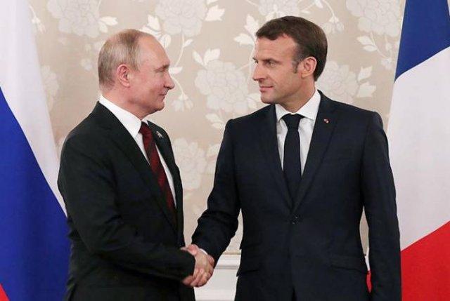 Путин 19 августа обсудит с Макроном во Франции ситуацию на Украине