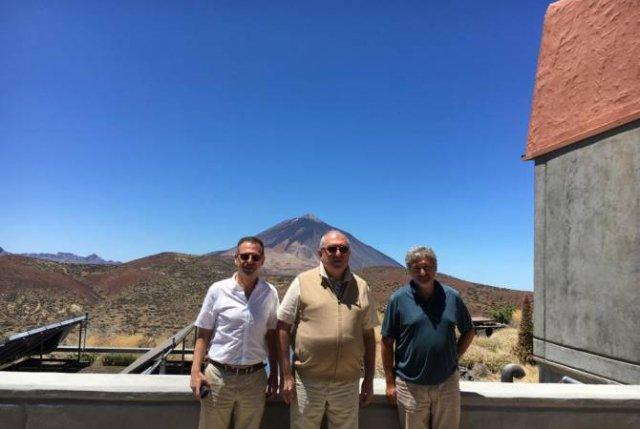 Армен Саркисян посетил известную обсерваторию Тейде