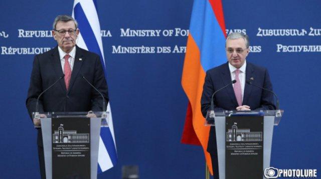 Зограб Мнацаканян: Уругвай является очень важным, надежным партнером для Армении