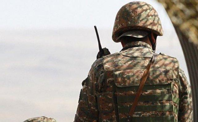 Вследствие выстрела ВС Азербайджана ранение получил армянский военнослужащий