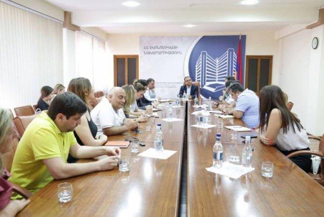 В Министерстве экономики Армении экспортеры представили проблемы сферы