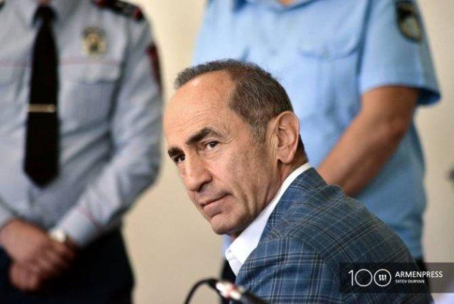 Кассационный суд Армении зарегистрировал апелляцию по делу Роберта Кочаряна