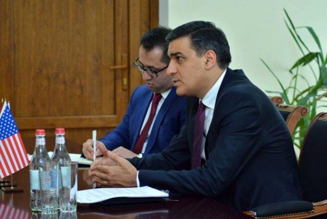 Омбудсмен РА принял посла США в Армении