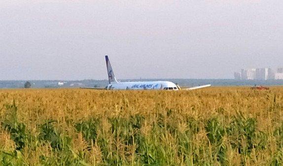 Пассажирский самолет совершил аварийную посадку в Подмосковье: есть пострадавшие