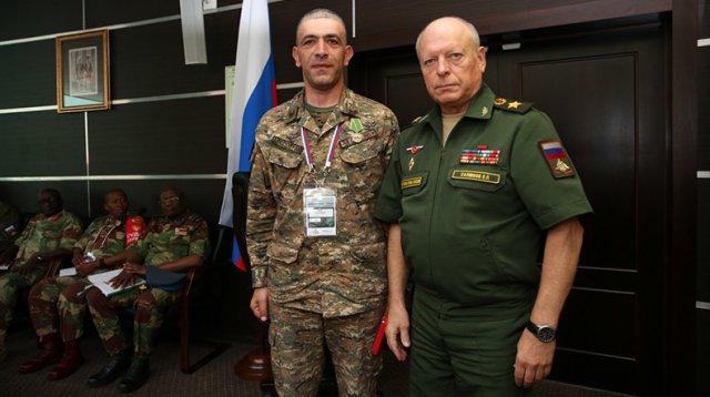 На заседании Совета Ассоциации армейских игр награждены офицеры ВС Армении