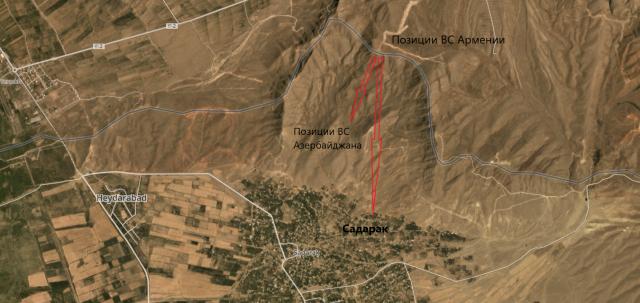 ВС Армении предотвратили попытки инженерных работ в Нахичеване. Ранен военнослужащий ВС Азербайджана