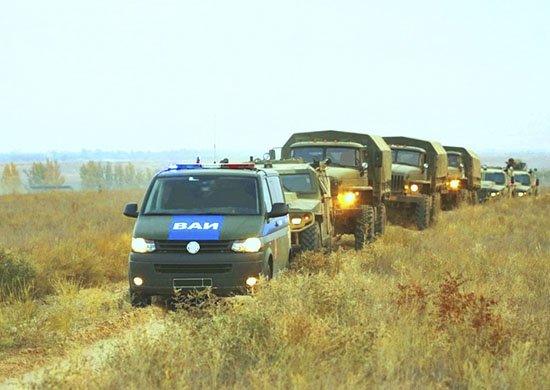 В Армении военные полицейские приняли участие в двустороннем ротном тактическом учении