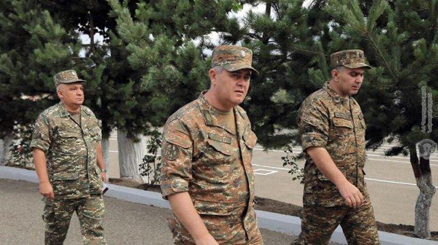 Главе Генштаба ВС Армении доложено об оперативной обстановке на границе