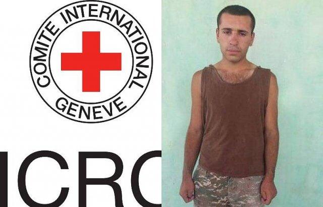 Представители Красного Креста навестили армянского солдата в Азербайджане