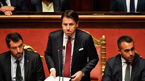 Премьер Италии объявил об отставке