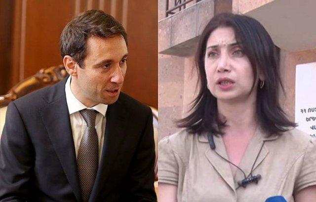 Мэр Еревана Айк Марутян подал в суд на Сону Агекян