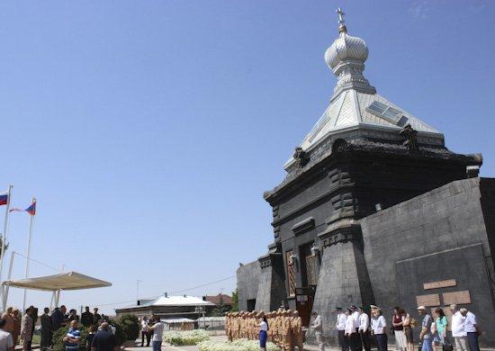 В Армении военнослужащие ЮВО принимают участие в Днях российской культуры