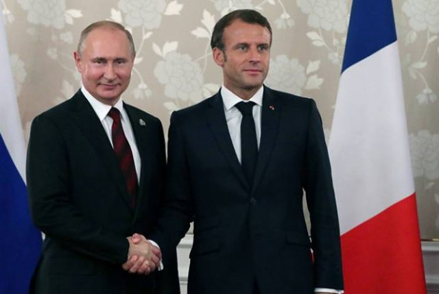 Президенты России и Франции обсуждали нагорно-карабахский конфликт