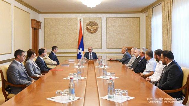 Обсуждены вопросы, касающиеся развития в Арцахе горнорудной промышленности