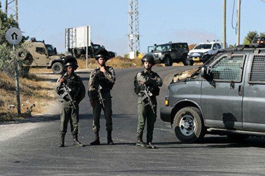 Палестинец попытался закидать гранатами израильских военных на границе Газы