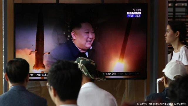 КНДР в седьмой раз за месяц осуществила запуск ракет