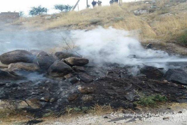 Зарегистрировано 35 пожаров на травяных участках