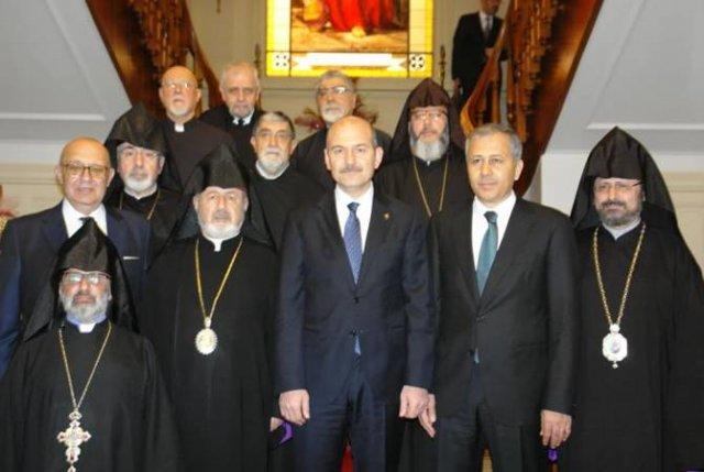 Президент Турции встретился с Патриаршим викарием Константинополя