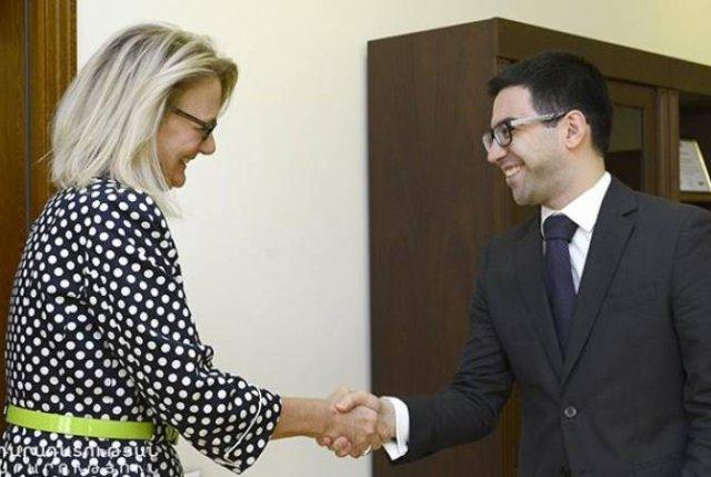 Рустам Бадасян обсудил с Деборой Гризер новые возможности развития сотрудничества