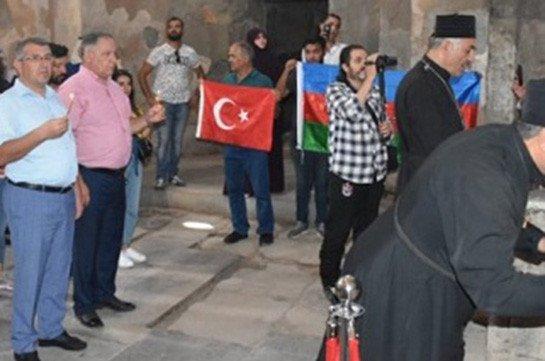 Бакинский балаган на Ахтамаре