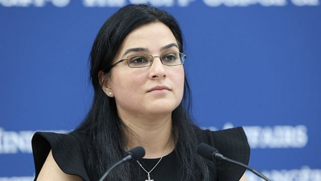 Анна Нагдалян: Армения поддерживает принцип одного Китая